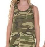 Little Girl Camouflage Tank Dress