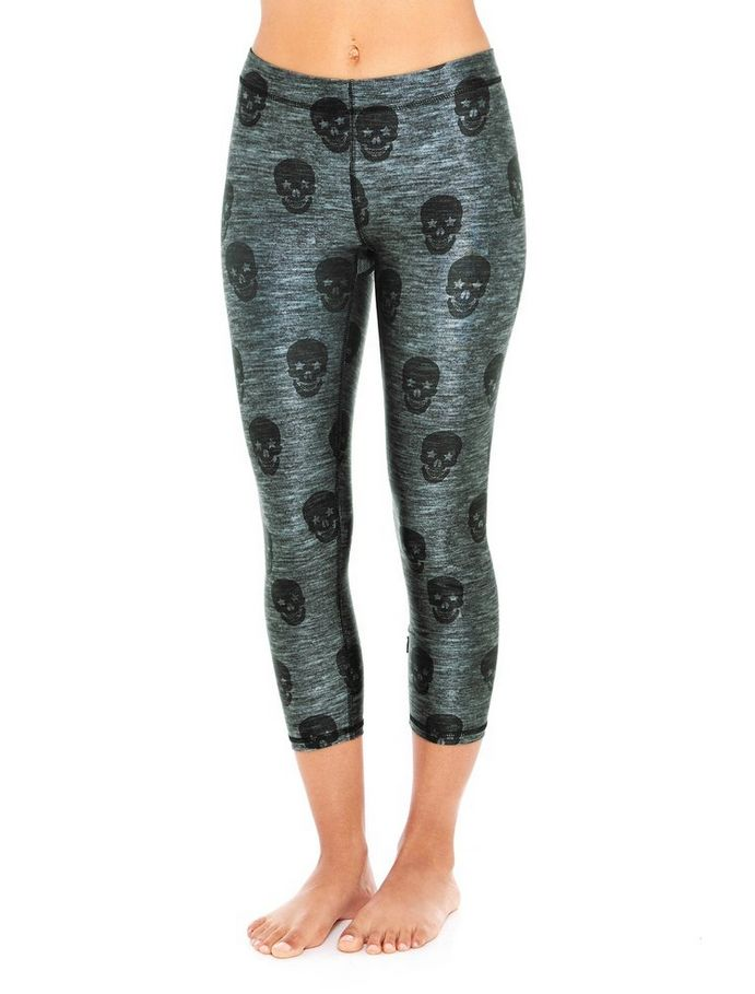 Terez Skull Star Power Capri Legging