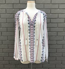 Dylan Chloe Blouse Natural
