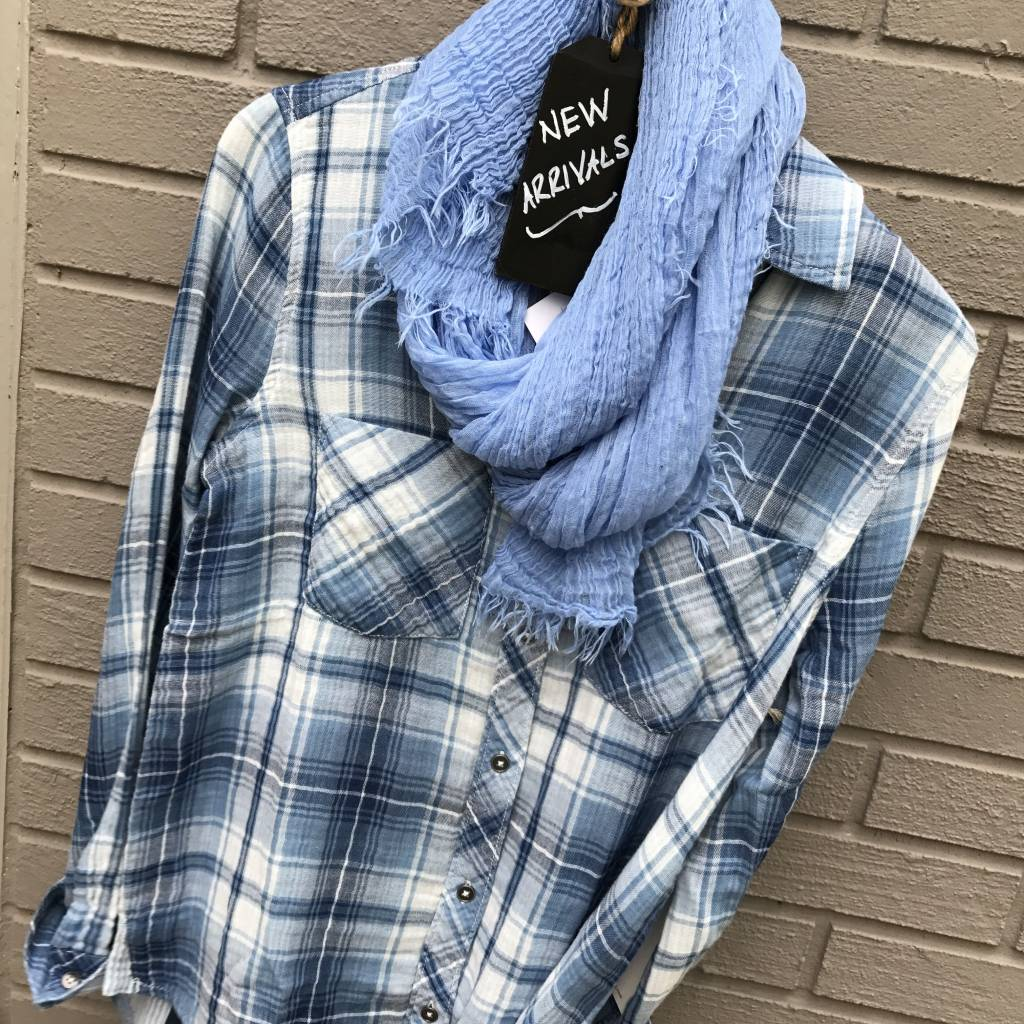 Dylan Double Weave Plaid Shirt