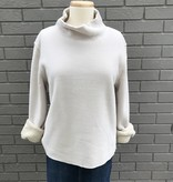 Dylan Tan Chamois Cozy Drop Shoulder Pullover