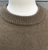 Haute Rogue Green Celestial Ruffle Sleeve Sweater