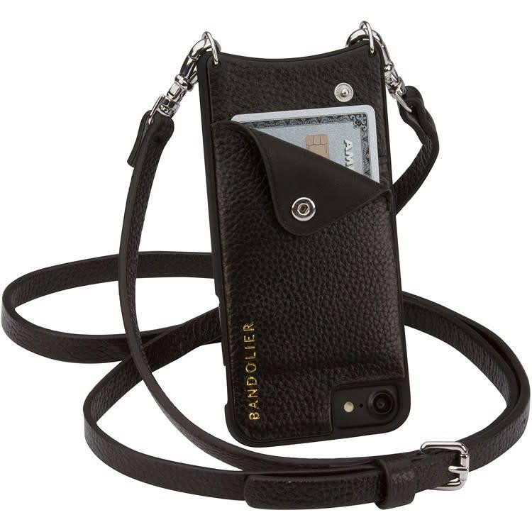 Bandolier Emma Black Pewter 8+/7+/6+ iphone case