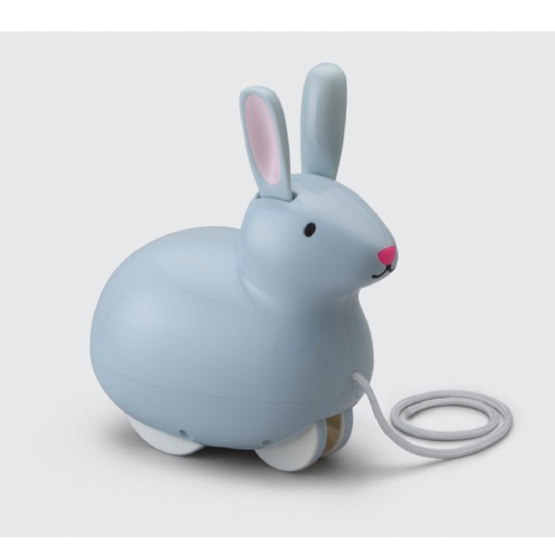Kid O Pull & Hop Bunny Toy