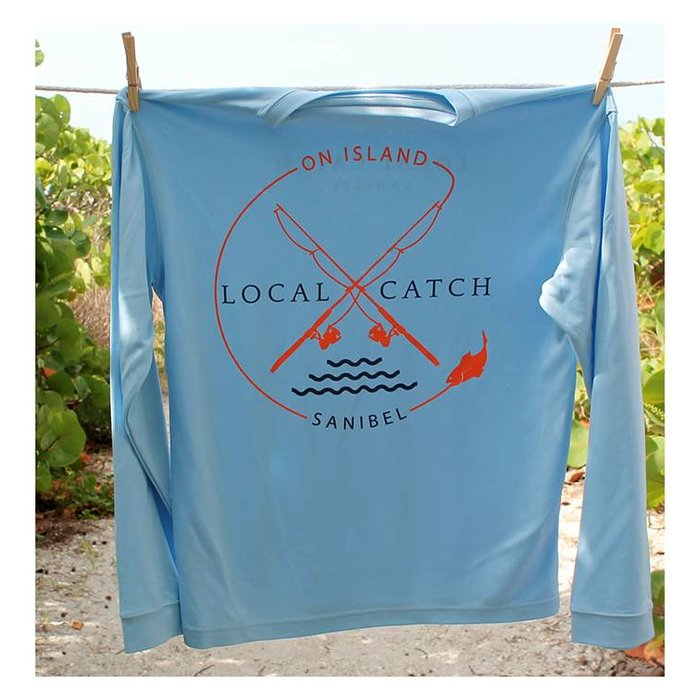 Men's Local Catch SPF Shirt