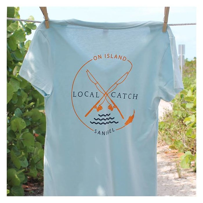 Local Catch Ladies Semi-Fitted Tee