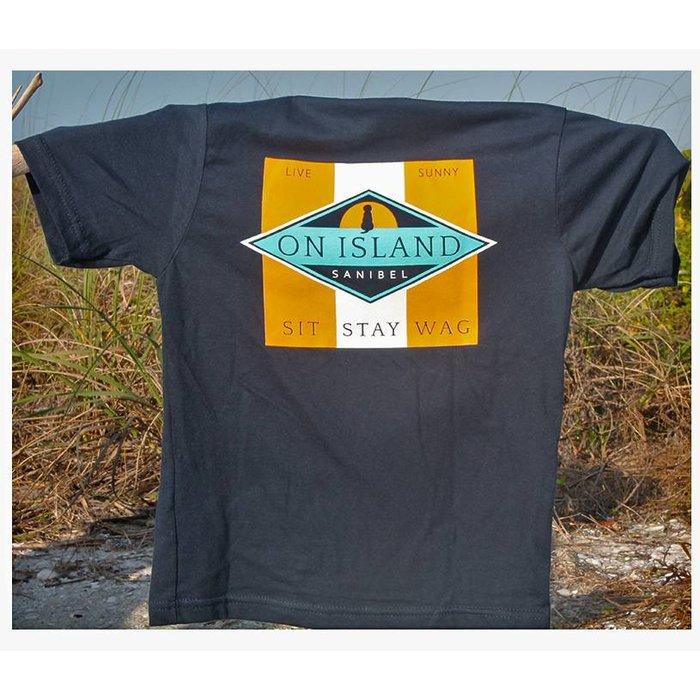 Sit Stay Wag Diamond Youth Shirt