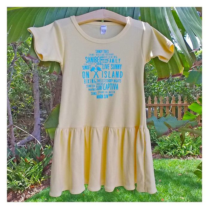 Toddler and Youth Word Cloud Dress
