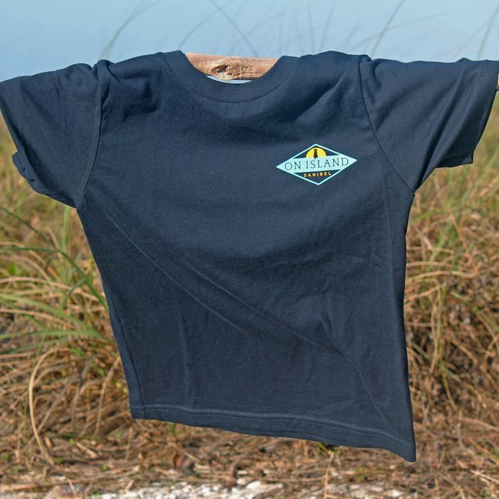 Men's Sit Stay Wag T-Shirt in Navy