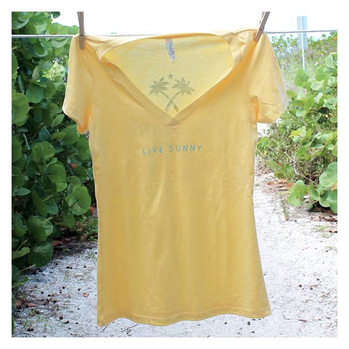 Live Sunny Ladies Relaxed Fit T-Shirt