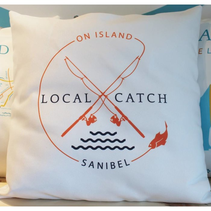 Local Catch Throw Pillow