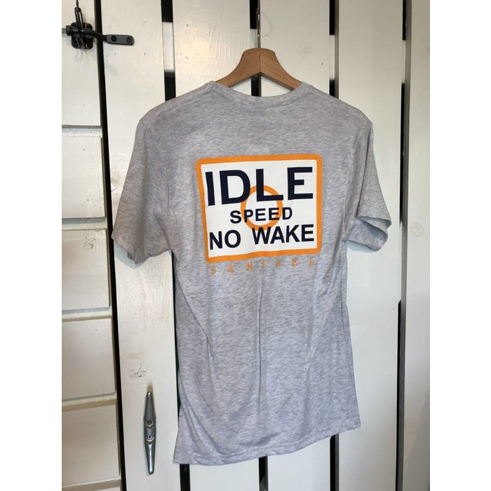 Idle Speed No Wake Tee -Grey