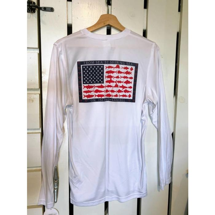 Sea to Shining Sea Sun Protection Long Sleeve Shirt