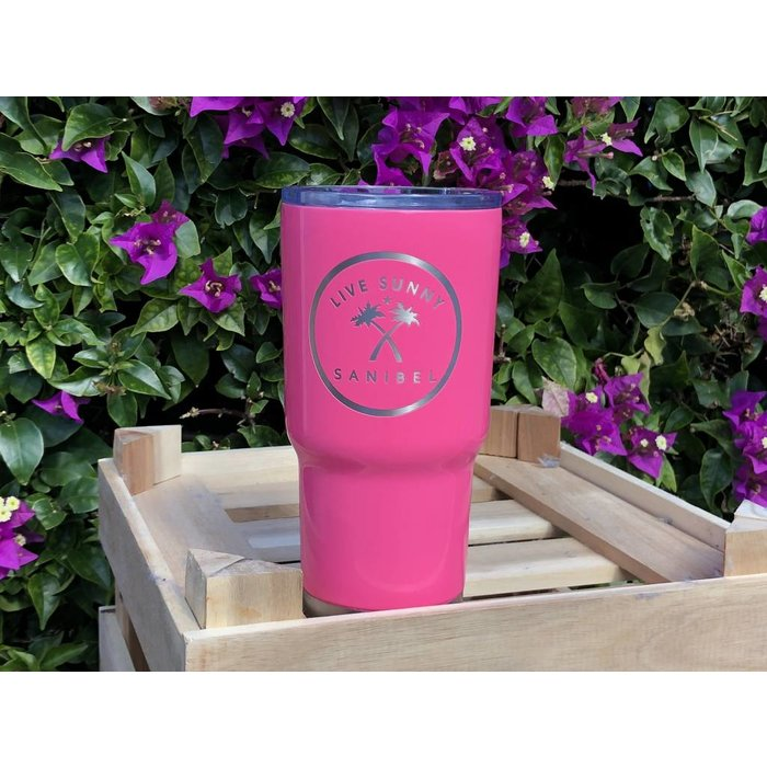RTIC PInk Live Sunny Tumbler