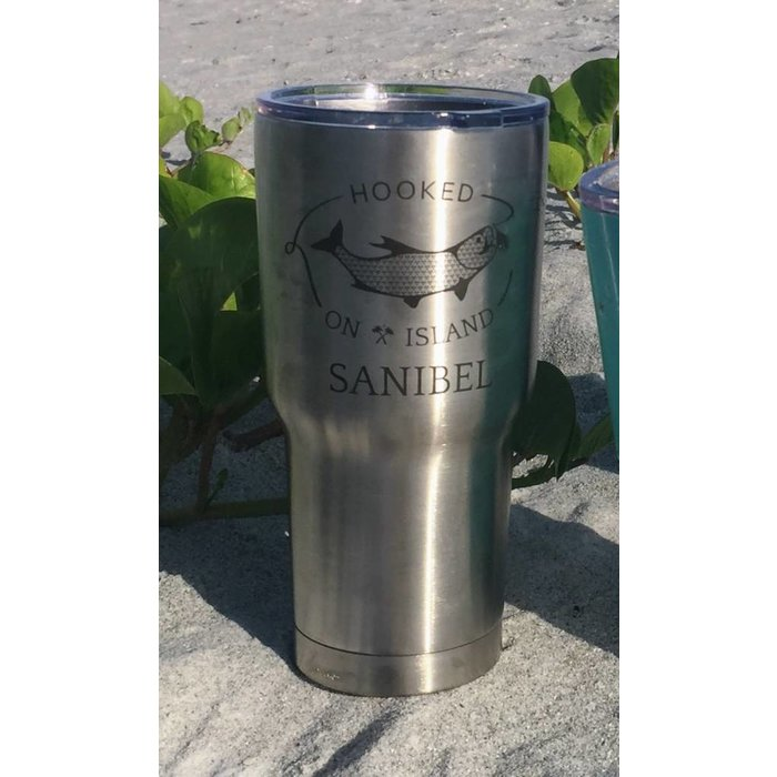 RTIC Hooked 30oz Tumbler in Stainless