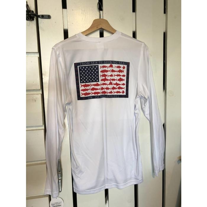 Sea to Shining Sea Cool&Dry Long Sleeve Shirt