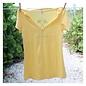 Live Sunny Ladies Yellow Sanibel Semi-Fitted Tee