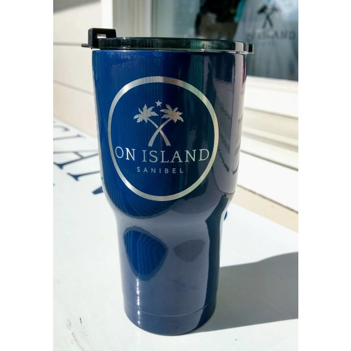 RTIC Logo 20 ounce Tumbler in Navy