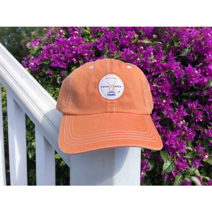 Local Catch Patch Hat Orange