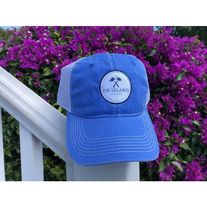 Blue Logo Patch Trucker Hat