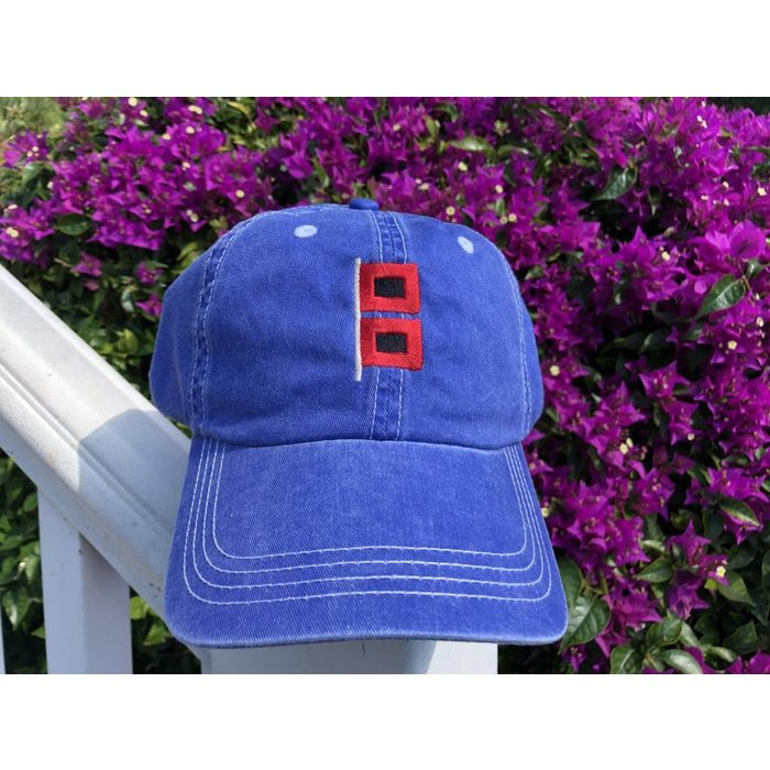 Hurricane Hat Blue Contrast