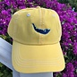 Map Hat Adult Yellow