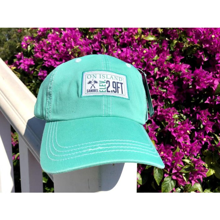Elevation Hat Sea Green