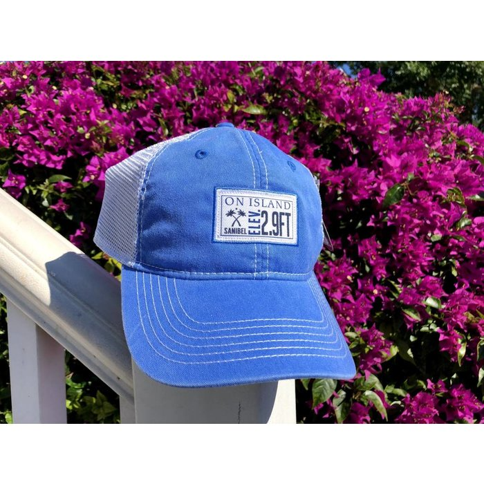 Blue Elevation Patch Trucker Hat