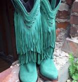 Liberty Black LIberty Black Turquoise Fringe Boot