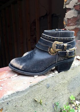 Corral Boot Co Corral Buckle Up Bootie