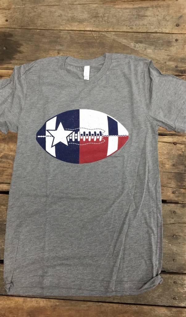 TX Flag Football Tee