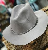 Sadie & Sage The Ringer Hat Charcoal