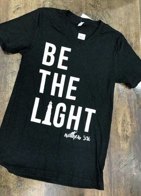 Threads of Light Be The Light V Neck