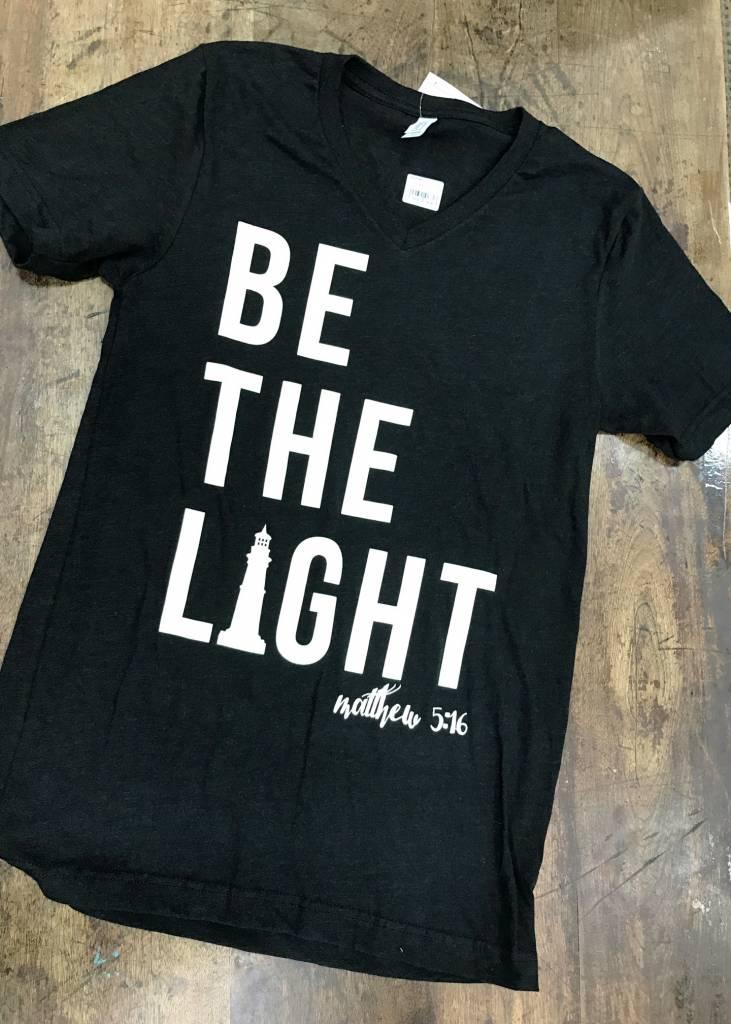 Threads of Light Be The Light V Neck