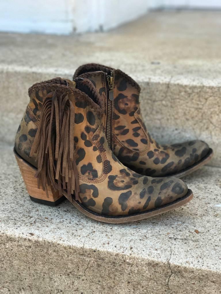 Vegas Cheetah Bootie