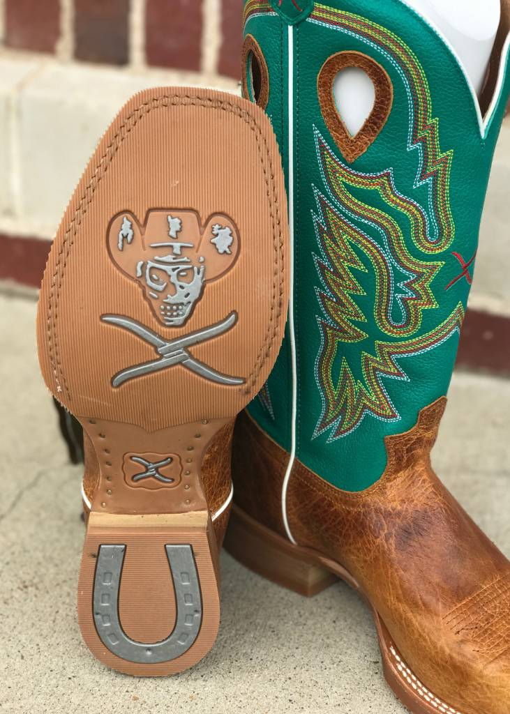 Twisted X Twisted X Ruff Stock Cognac Frog