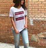 Rosebud's Designs Support your local farmer Tee