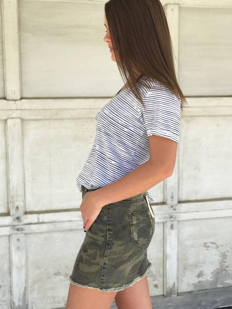 Cadet Mini Skirt