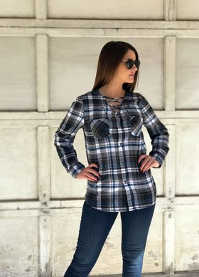 The Lexi Lace Up Shirt