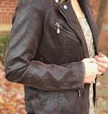 Lucy Deep Brown Jacket
