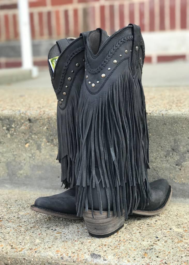 Liberty Black Liberty Black Fringe Black Boot