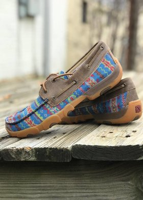 Twisted X Serape Boat Shoe