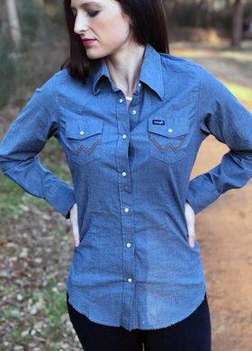 Wrangler Wrangler Vintage Chambray Shirt