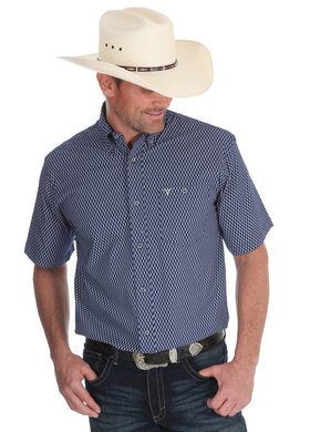 Wrangler® 20X® Competition Diamond Plaid Shirt