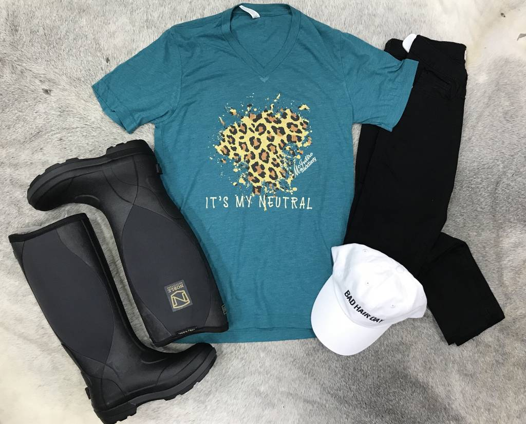Diamond T Outfitters Leopard is My Neutral Tee