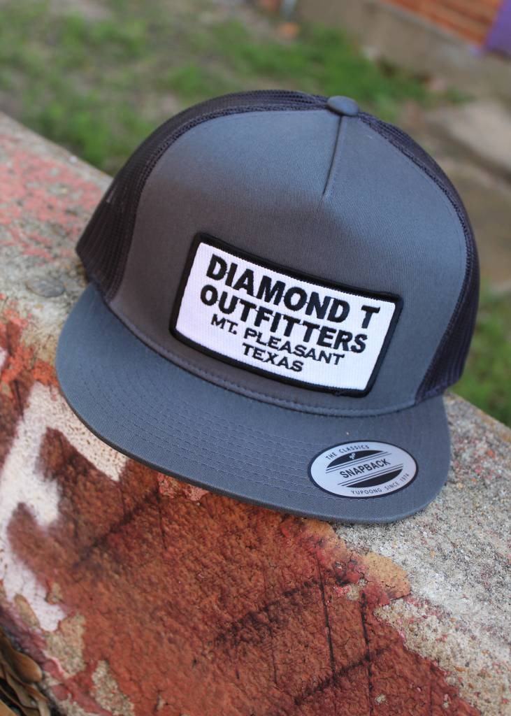 Diamond T Outfitters The Oldie Charcoal Cap