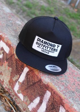 Diamond T Outfitters The Oldie Black Out Cap