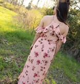 Coral Ice Maxi Dress