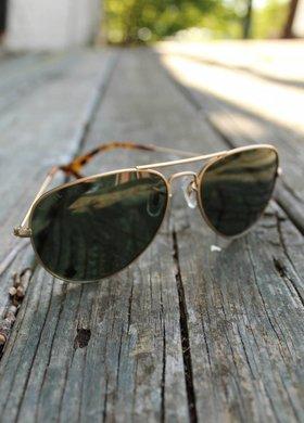 Vexil Chute Boss Matte Gold Sunglasses