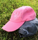 The Bull Distressed Cap Bubblegum